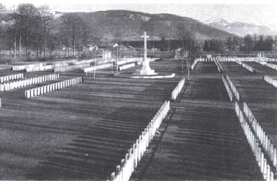 Durnbach War Cemetery Germany, (Copyright: Commonwealth War Graves Commission).