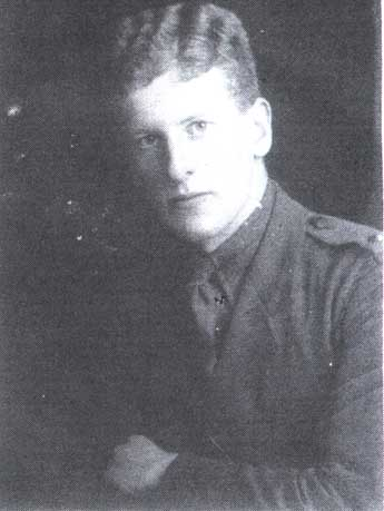 2nd Lt Wheeler, Rifle Brigade, 1917-1918