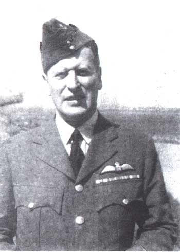 Pilot Officer Wheeler, RAF, in 1940
